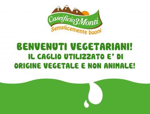 Caseificio 3 Monti - Vegetariani